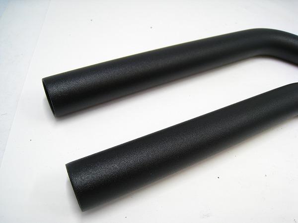 エクステンションバー 400/φ22.2mm アルミ ブラック