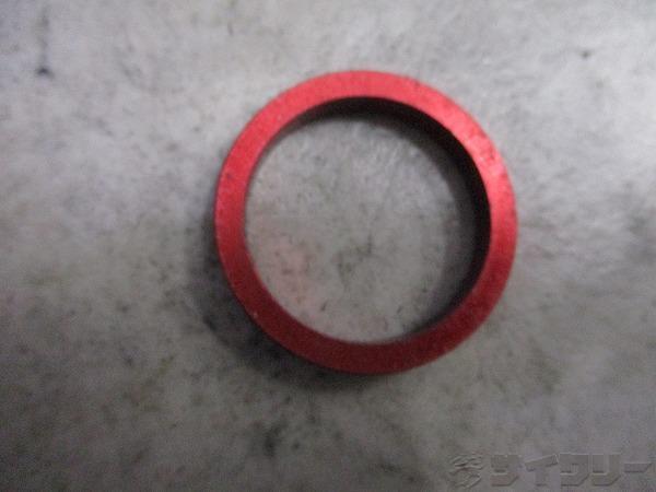 コラムスペーサー 5mm 28.6mm(OS) レッド 日焼け
