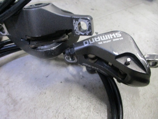 油圧ブレーキユニット BL/BR-M800 SAINT 770/1320mm