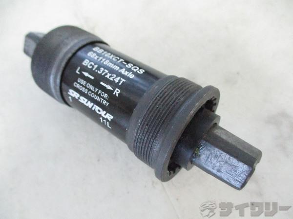 ボトムブラケット CH52 68mm/JIS 118mm スクエア