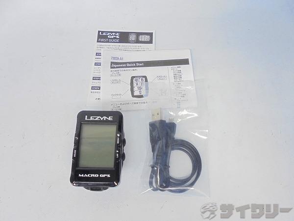 GPSサイクルコンピューター MACRO GPS