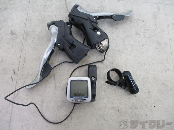 STIレバー 105 ST-5500 2/3x9s ※使用感大、欠品多数あり