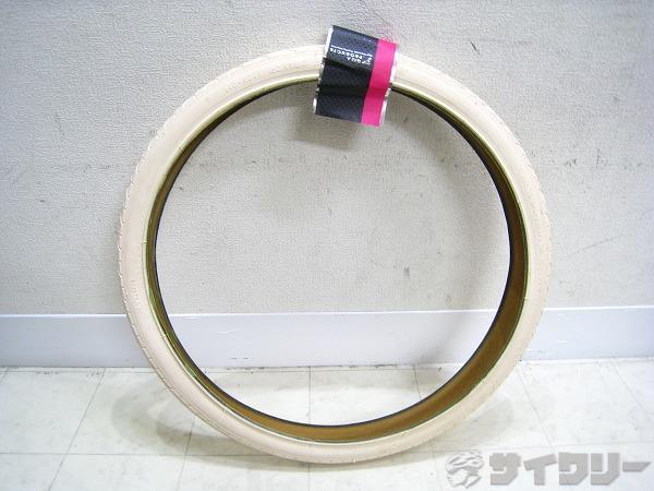 20インチタイヤ 20x1.50(40-406) ホワイト