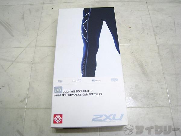 ユニセックスコンプレッションタイツ サイズ:M ブラック