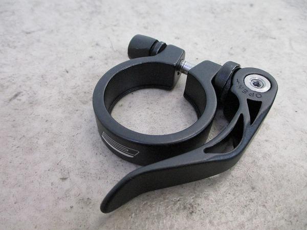 シートクランプ クイック式 約35mm(実測) ブラック
