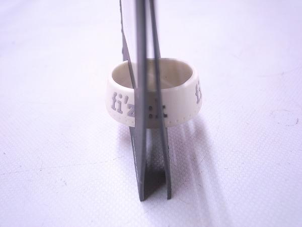 シリコンシートポストリング ホワイト φ27.2