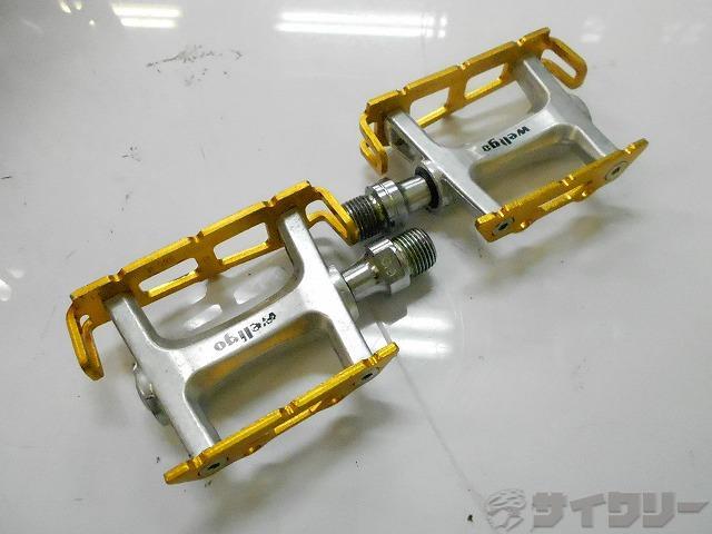 フラットペダル R025 ゴールド