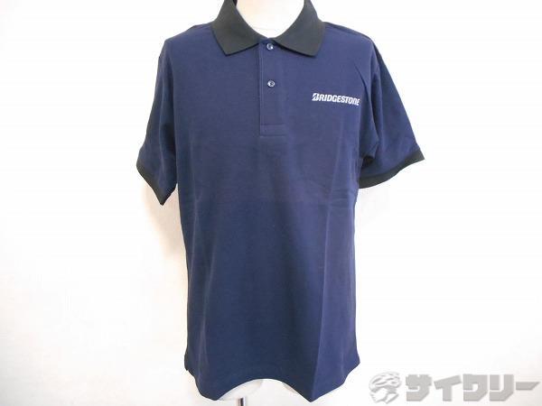 ポロシャツ Mサイズ ネイビー