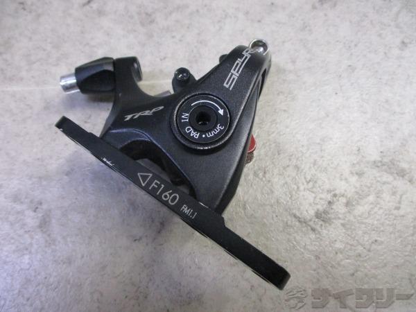 メカニカルディスクブレーキ SPYRE-C F160 フラットマウント 片側のみ
