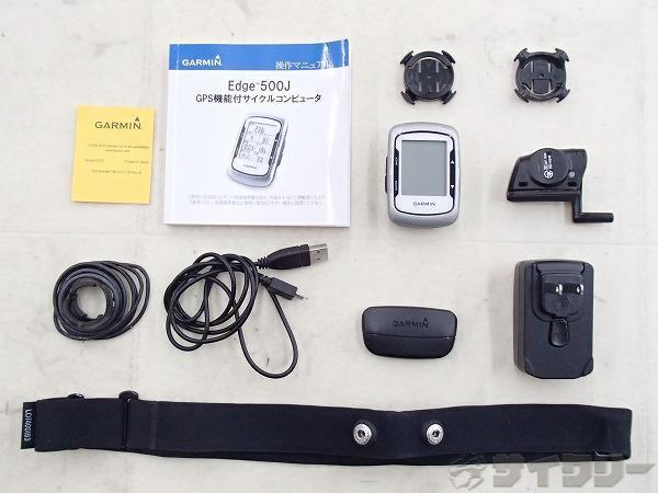 GPSサイクルコンピュータ EDGE500J ※マグネット欠品