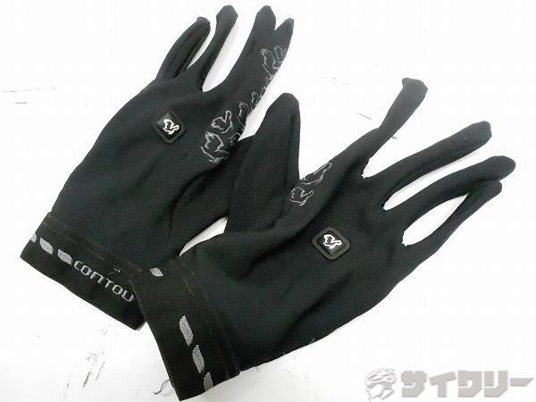 フルフィンガーグローブ ブラック サイズ:L