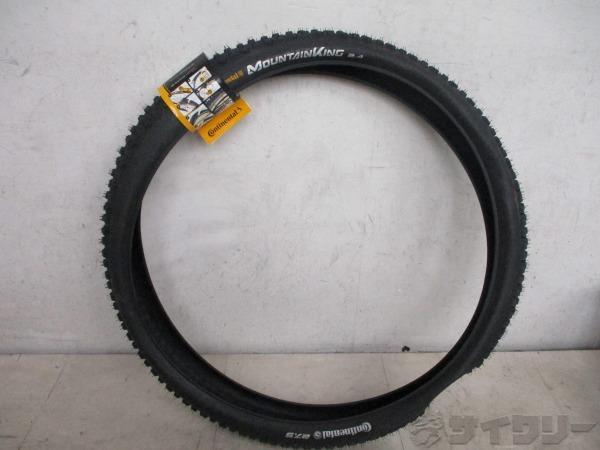 タイヤ MOUNTAINKING 27.5X2.4 タグ有り