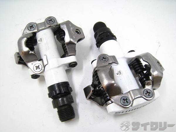 ビンディングペダル PD-M520 SPD ホワイト