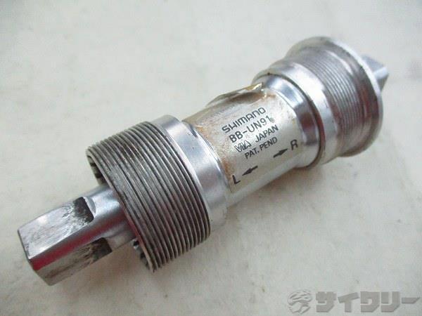 ボトムブラケット BB-UN91 68mm/JIS 115mm スクエア
