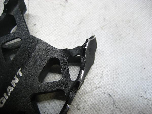 フラットペダル ブラック ※歪みあり