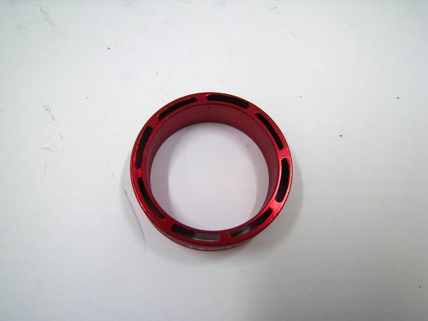 コラムスペーサー 10mm/OS レッド