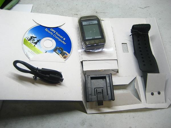 GPSサイクルコンピュータ GT-800PRO 動作確認済み