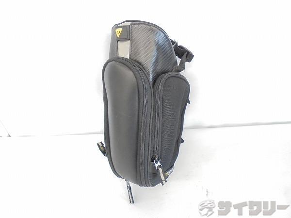 サドルバッグ モンドパック XL ストラップタイプ ブラック