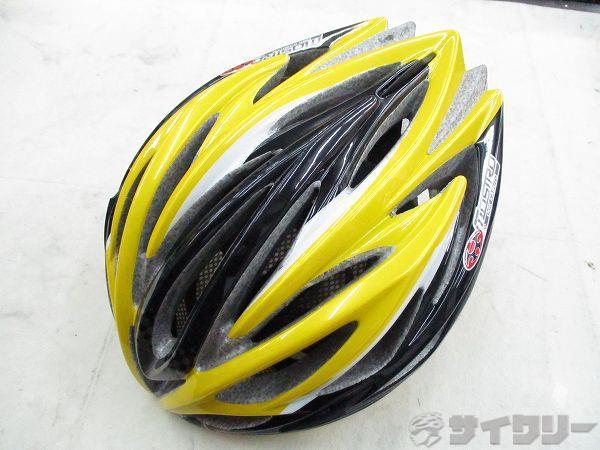 ヘルメット MOSTRO サイズ:L イエロー