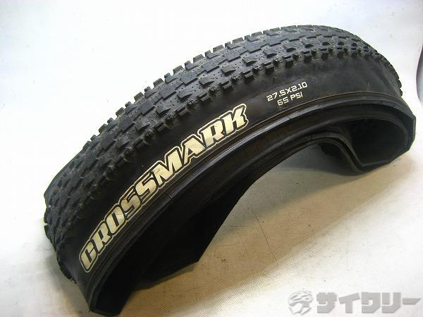 ブロックタイヤ CROSSMARK 27.5×2.10