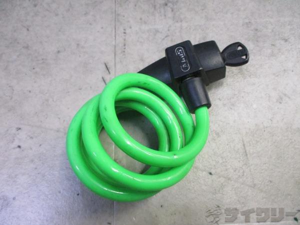 ワイヤーロック Primo グリーン 鍵1個