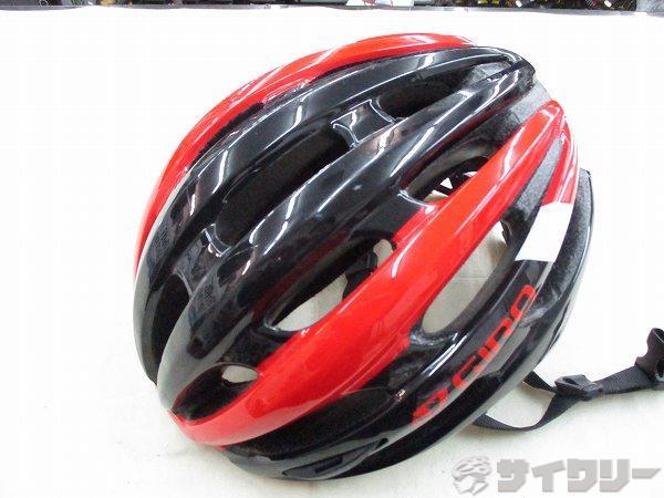 ヘルメット FORAY 59-63cm ブラック/レッド
