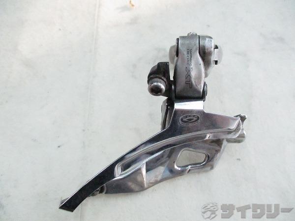 サビ フロントディレイラー FD-M751 DEORE XT 3s 上引き Φ31.8mm
