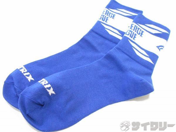 ソックス ブルー サイズ:不明