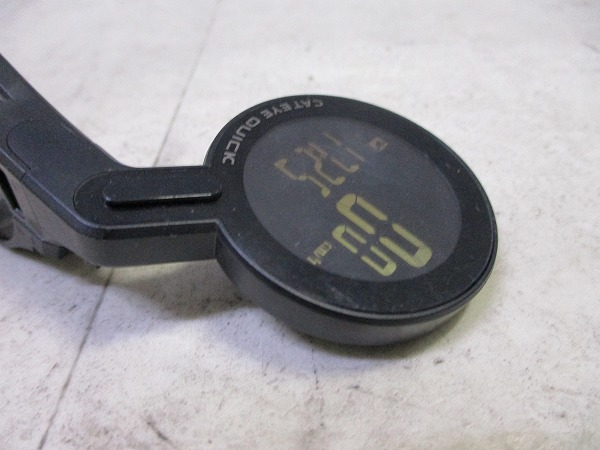 サイクルコンピュータ Quick CC-RS100W クランプ径:31.8mm