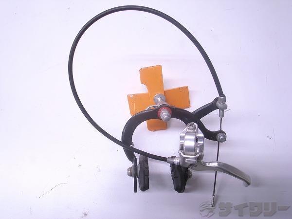 ピスト用ブレーキユニット シルバー/ブラック