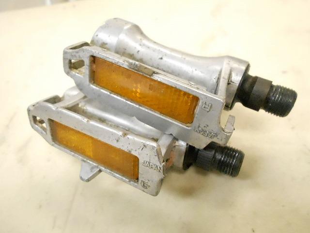 弱ガタ トゥクリップペダル AR-8 シルバー