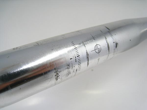 ドロップハンドル 400/31.8mm アルミ シルバー