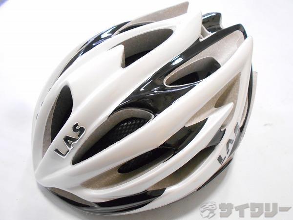 ヘルメット VICTORY ホワイト/ブラック 57-62cm 2014年製造