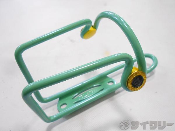 ボトルケージ LIGHT WEIGHT TUBULAR レーサーボトル用 グリーン