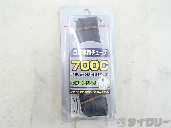 チューブ 700x27-31c 仏式