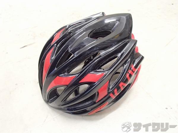 ヘルメット MOJITO レッド/ブラック 52-58cm