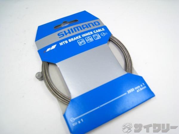 SUSブレーキインナーケーブル MTB用 1.6x2050mm Y80098210