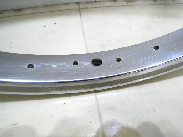 BMX リム シルバー 36H 20インチ(406)