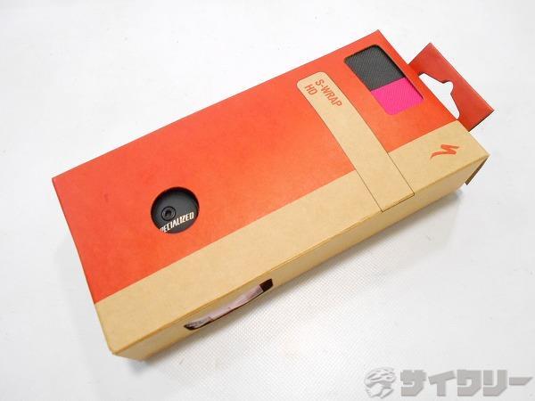 バーテープ S WRAP HD TAPE ピンク/ブラック