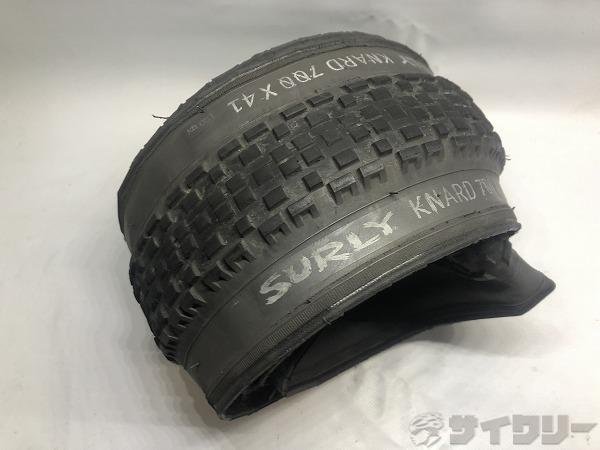 タイヤ KNARD 700×41C
