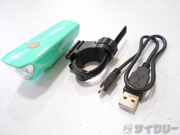 フロントライト HL-EL151RC VOLT200 グリーン USB充電式
