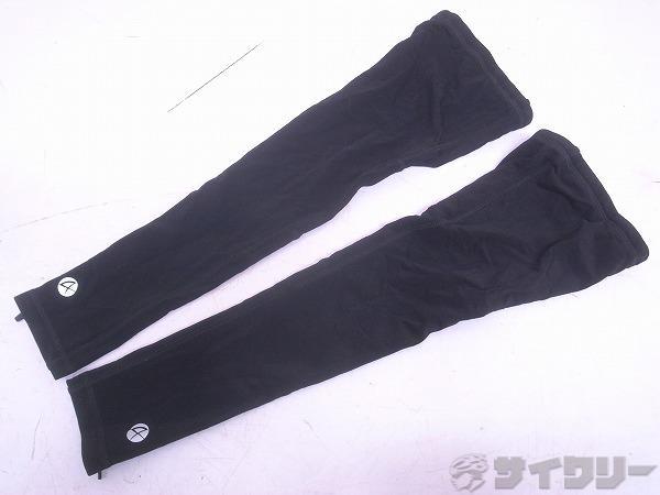 レッグウォーマー Sサイズ ブラック