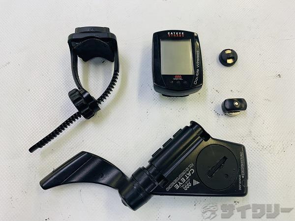 サイクルコンピュター CC-RD400DW ※電池なし、欠品有り