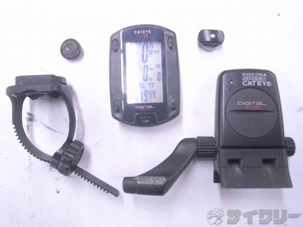 サイクロコンピューター CC-TR300TW V3 HRセンサー欠品