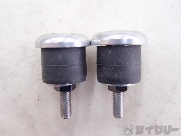 エンドキャップ シルバー 外径:22.2mm/内径17mm