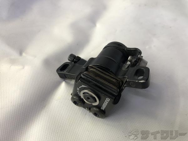 メカニカルディスクブレーキ BR-M416 片側 ※割れあり