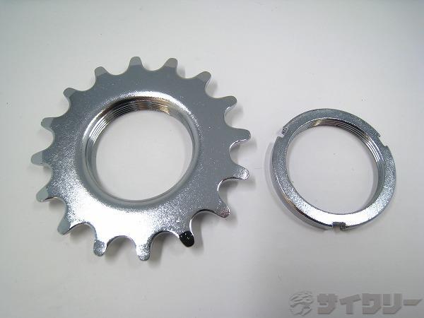 固定コグ&ロックリング 16T 厚歯