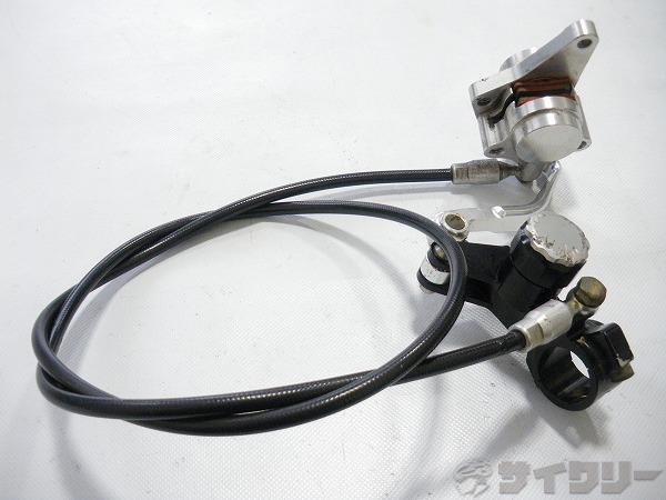 油圧ディスクブレーキ&レバー 右レバー 890mm
