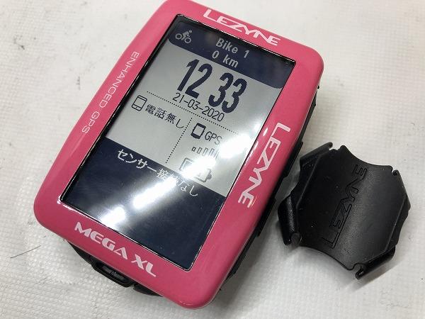 GPSサイクルコンピューター MEGA XL