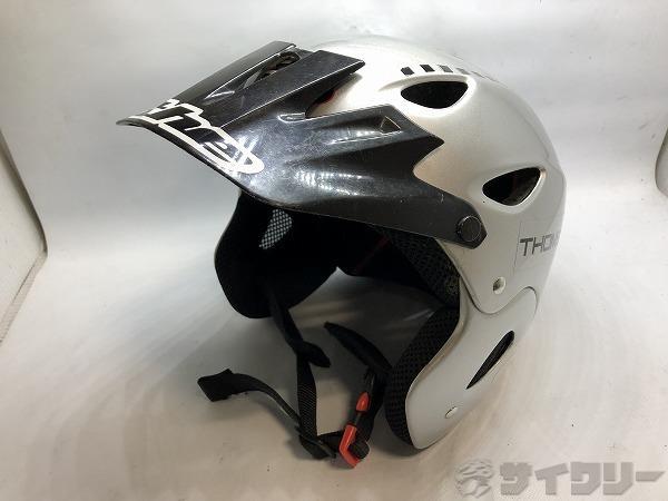 ヘルメット シルバー M/L